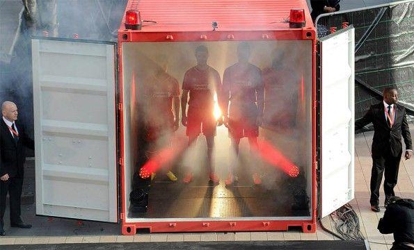 Container Demand Warrior Liverpool