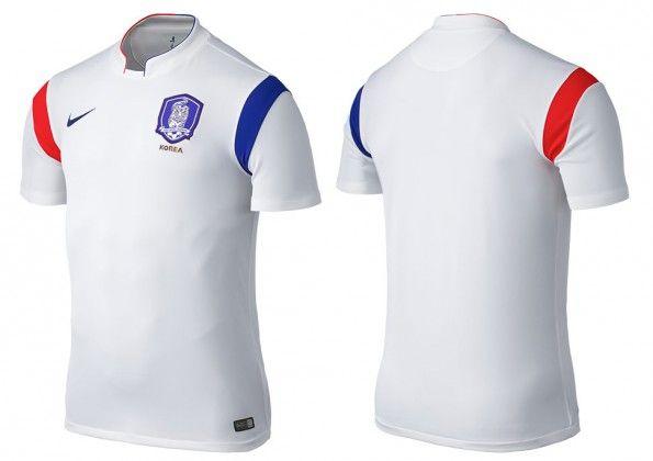 Seconda maglia Corea del Sud 2014-16