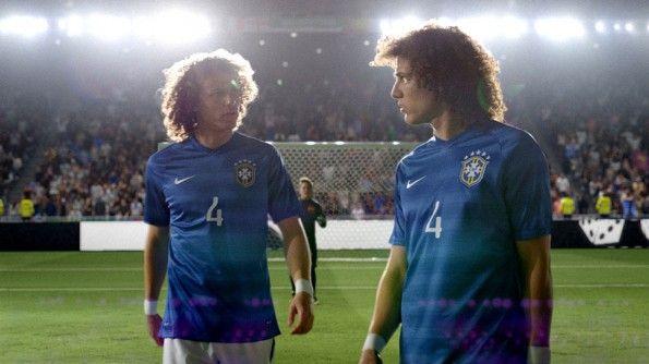 I cloni di David Luiz, campagna Nike