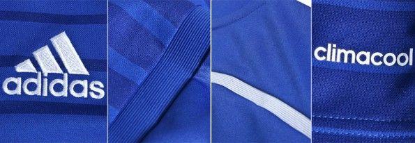 Dettagli Chelsea kit home 2014-15
