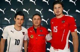 Kit Austria 2014-16 Puma
