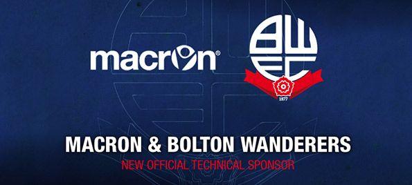 Macron sponsor tecnico Bolton