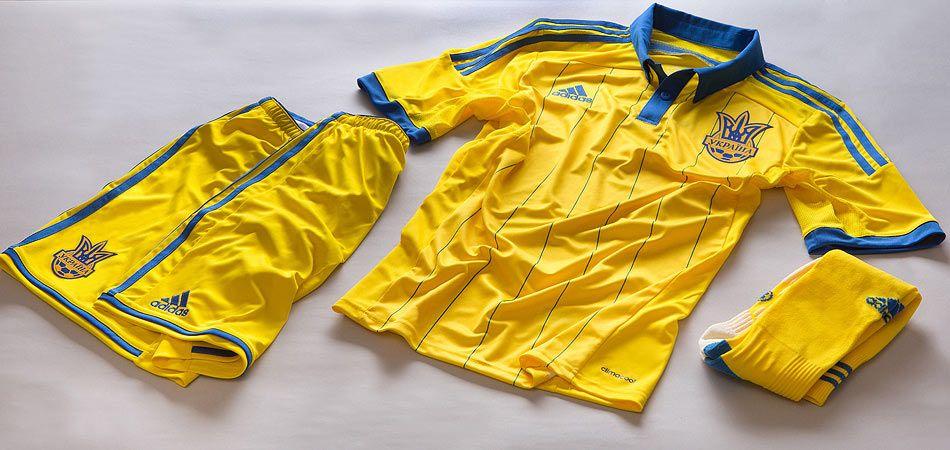 Maglia Ucraina 2014-16 adidas