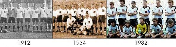 Maglie Austria 1912-1934-1982