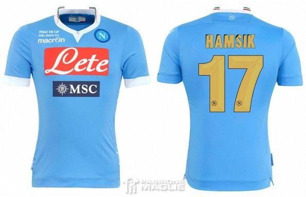 Maglia Napoli finale Coppa Italia 2013-14