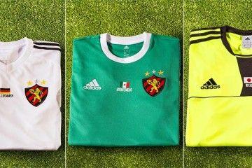 Maglie Sport Recife omaggio Mondiali 2014