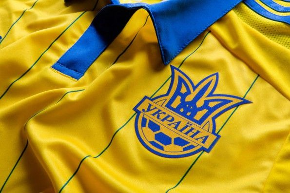 Stemma Ucraina maglia 2014-16