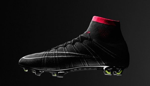 Scarpe Superfly Mercurial nere