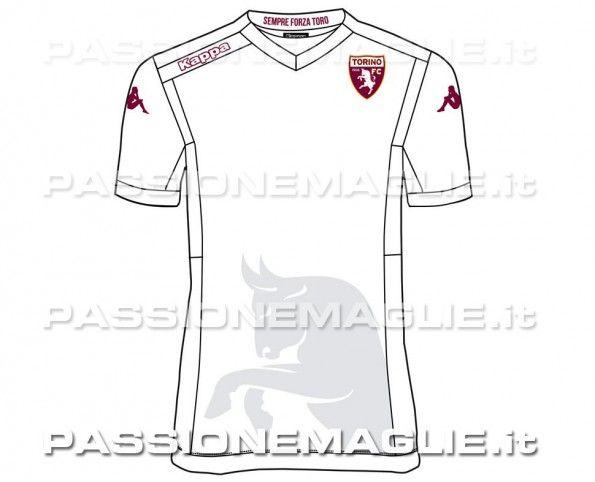 Seconda maglia Torino 14-15 anteprima