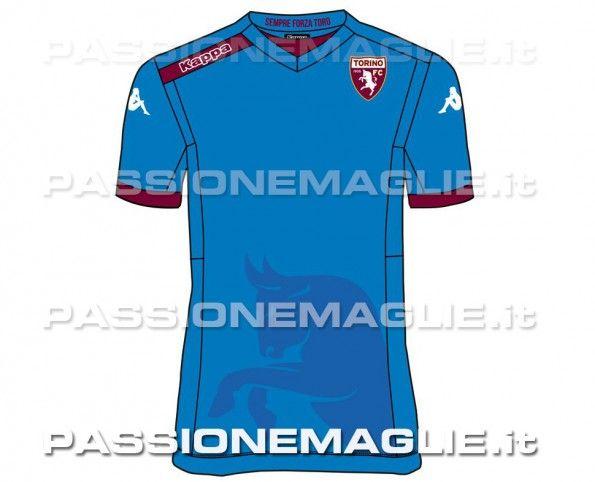 Terza maglia Torino azzurra 14-15 anteprima