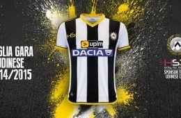 Maglia Udinese 2014-15 HS Football