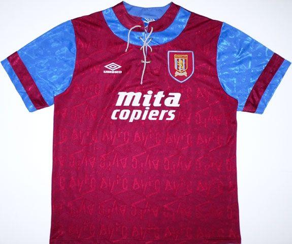 Maglia Aston Villa 1992-1993