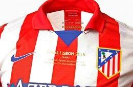 Maglia Atletico Madrid finale Champions League 2013-14