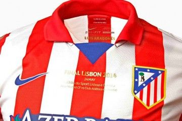 Maglia Atletico Madrid finale Champions League 2013-14