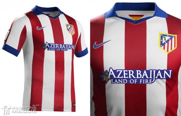 Atletico Madrid maglia casa 2014-2015 Nike