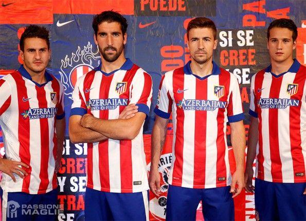 Maglia Atletico Madrid 2014-15 home