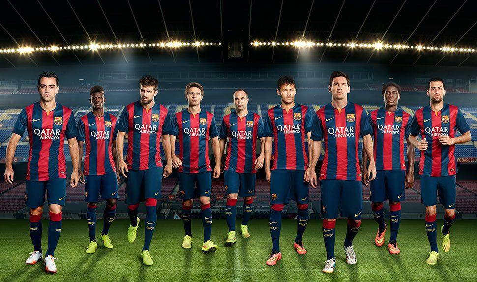 Kit Barcellona 2014-2015 Nike