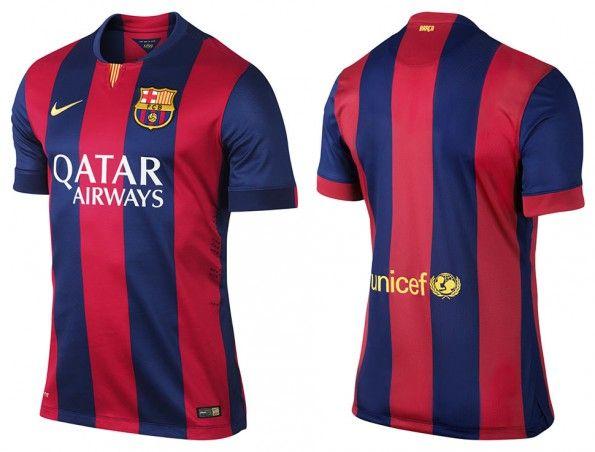 Maglia Barcellona 2014-2015 Nike