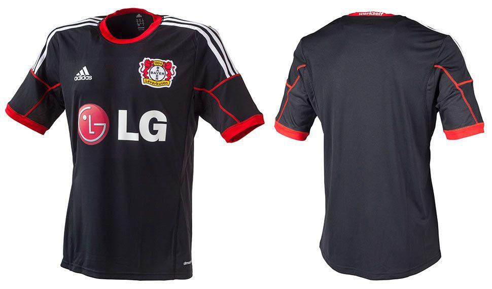 Maglie Bayer Leverkusen 2014-2015, torna il rosso in casa