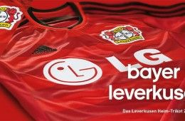 Bayer Leverkusen home 2014-15