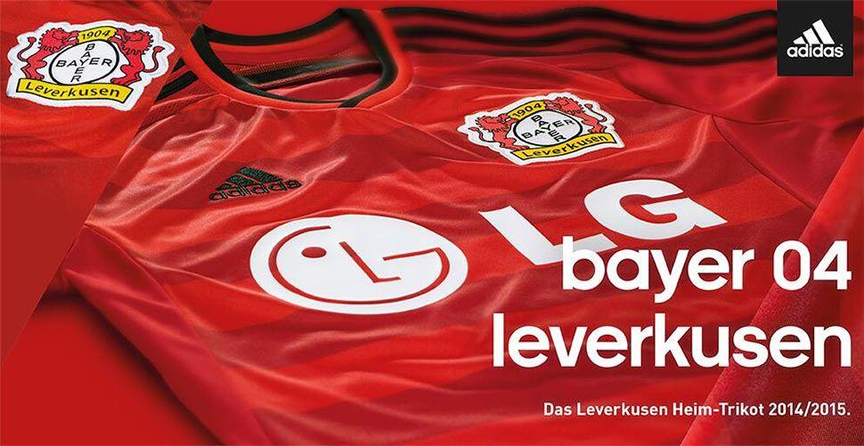 Bayer Leverkusen home 2014-15