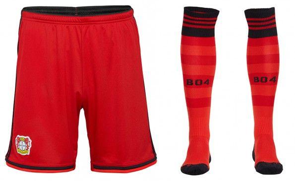 Pantaloncini calzettoni Bayer 04 home 2014-15