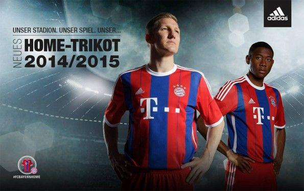 Bayern Monaco kit 2014-2015