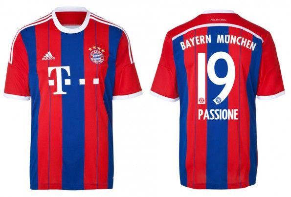 Maglia Bayern Monaco 2014-2015