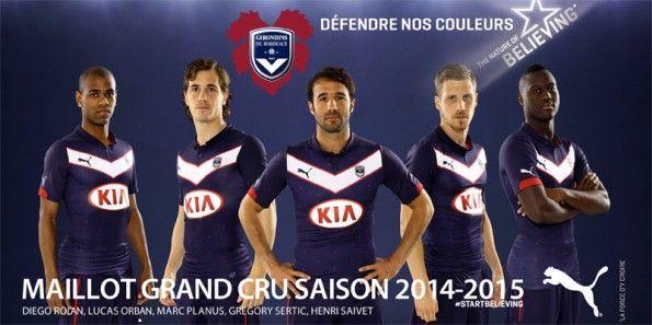 Presentazione maglia Bordeaux 2014-2015 Puma