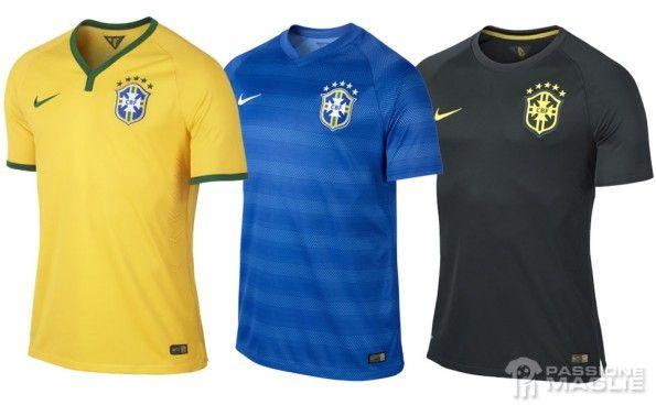 Maglie Brasile Mondiali 2014