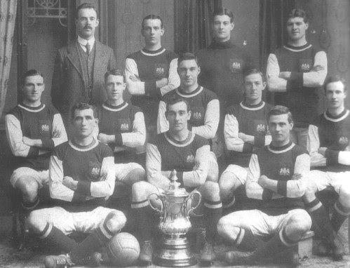 Burnley vincitore FA Cup 1914