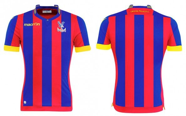 Maglia Crystal Palace home 2014-2015