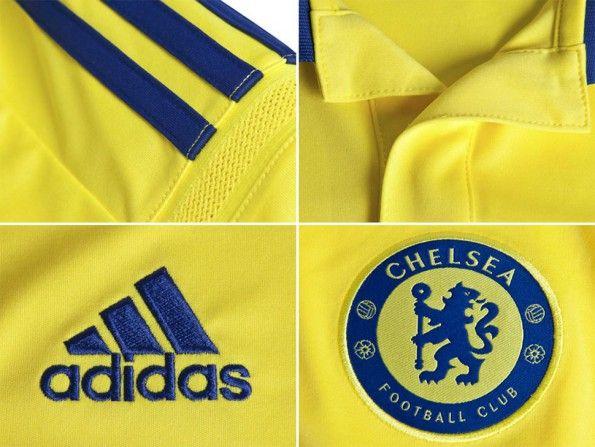 Dettagli kit Chelsea away 2014-15
