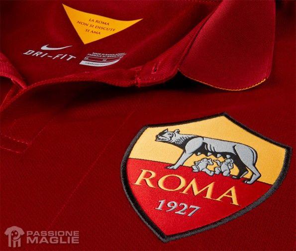 Interno colletto maglia Roma 14-15
