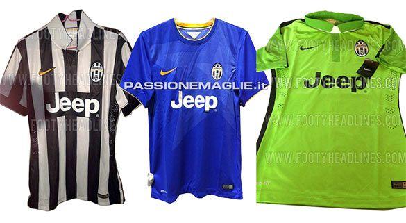 Kit Juventus anteprima 2014-15