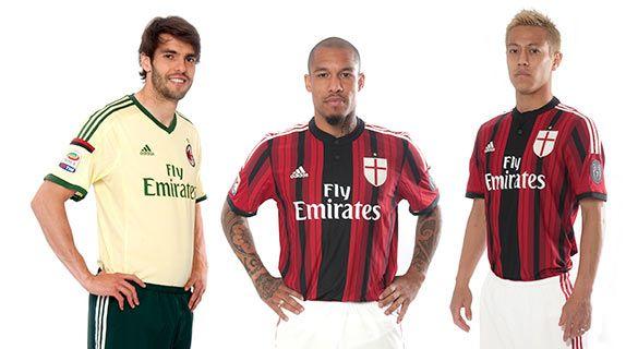 Copertina kit Milan 14-15