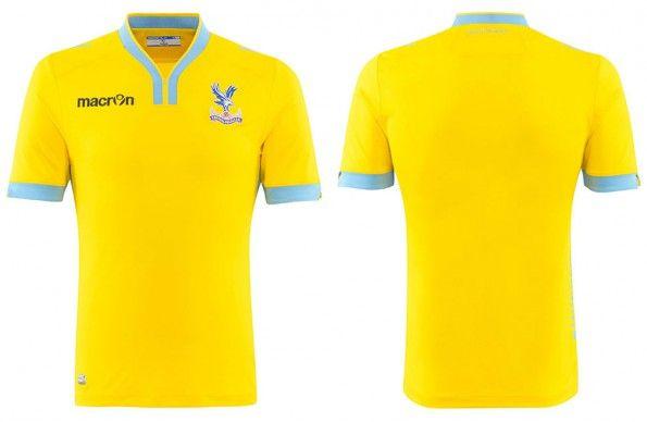 Seconda maglia Crystal Palace 2014-15