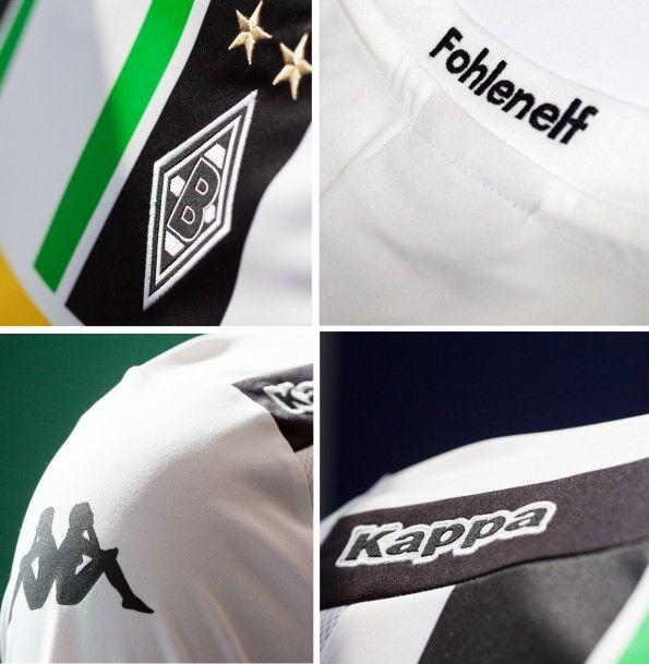 Dettagli della maglia Borussia Monchengladbach 2014-15