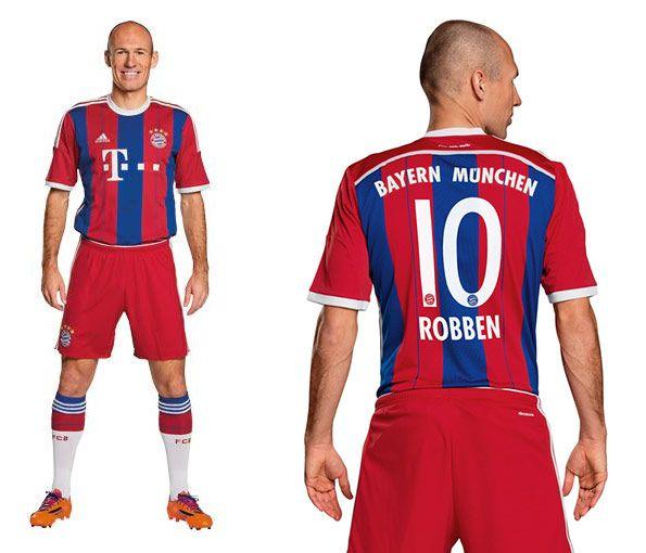 Divisa Bayern Monaco casa 2014-15