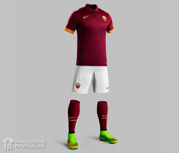 Divisa Roma home 2014-15