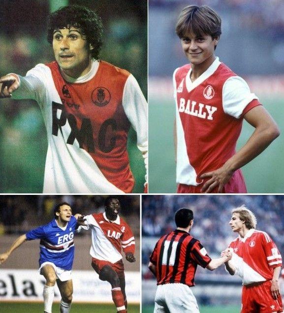 Divise del Monaco anni '80-'90