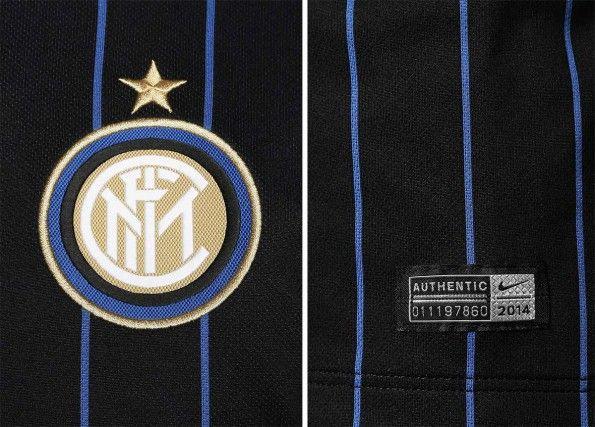 Pinstripes maglia Inter 2014-15