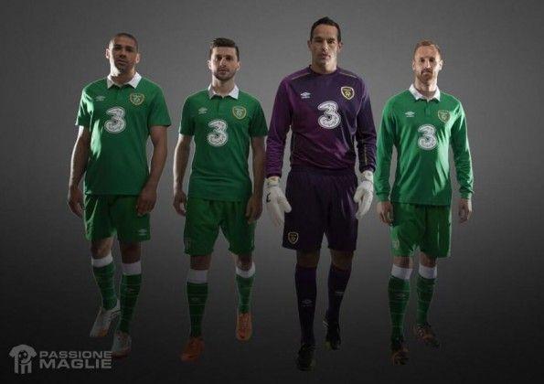 Kit Irlanda 2014-2015 Umbro