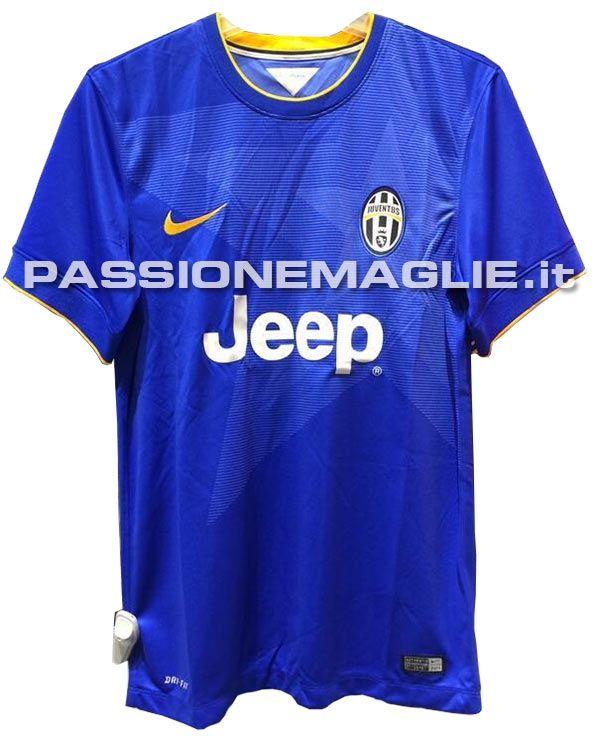 Anteprima seconda maglia Juventus 2014-15