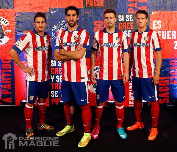 Kit home Atletico Madrid 2014-2015