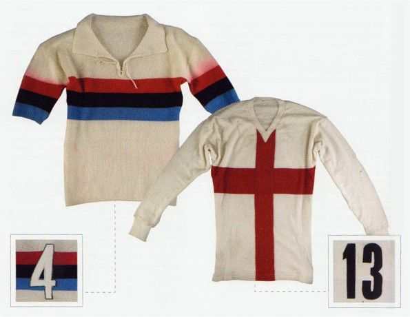 MilanInter, maglie, 1949, 1965