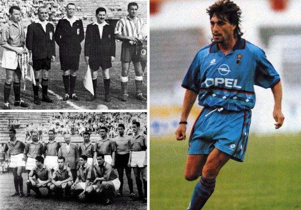 Milan, maglia azzurra, Coppa Latina 1956, fourth 1995-1996