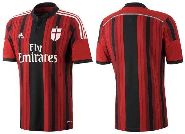 Prima maglia Milan ufficiale 2014-2015