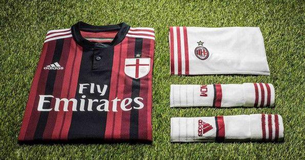 Divisa Milan 2014-15 casa