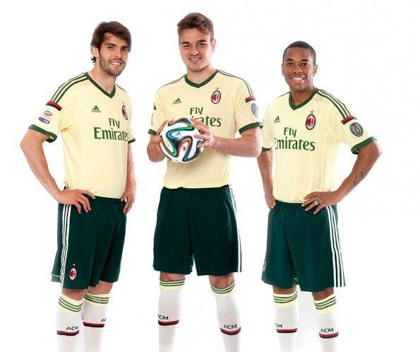 Terza divisa Milan 2014-15